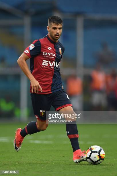 Miguel Veloso of Genoa CFC in action during the Serie A match between Genoa CFC and Juventus at Stadio Luigi Ferraris on August 26 2017 in Genoa Italy