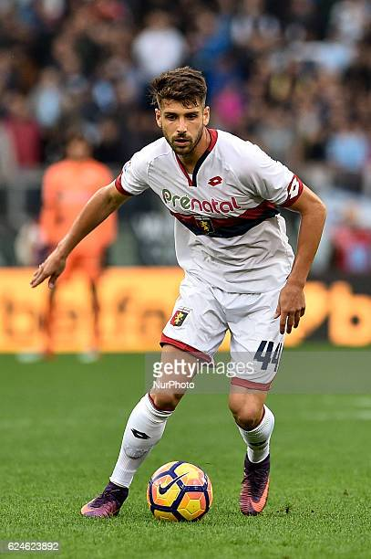 Miguel Veloso of Genoa during the Serie A match between Lazio v Genoa on November 20 2016 in Rome Italy