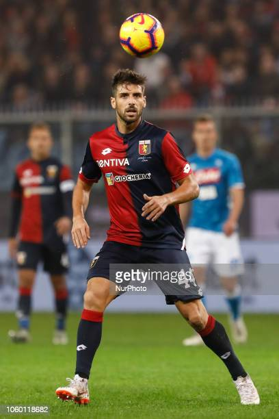 Miguel Veloso of Genoa in action during the Lega Seria A match between Genoa CFC and SSC Napoli on November 10 2018 at Stadio Luigi Ferraris in Genoa...