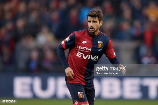 Miguel Veloso of Genua during the Italian Serie A match between Genoa v AS Roma at the Stadio Luigi Ferraris on November 26 2017 in Rome Italy