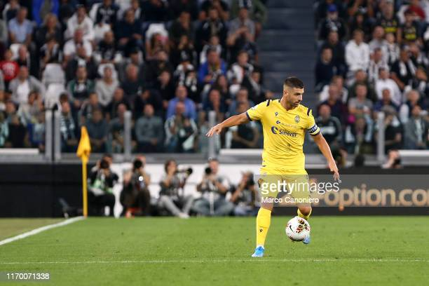 Miguel Veloso of Hellas Verona Fc in action during the Serie A match between Juventus Fc and Hellas Verona Fc Juventus Fc wins 21 over Hellas Verona