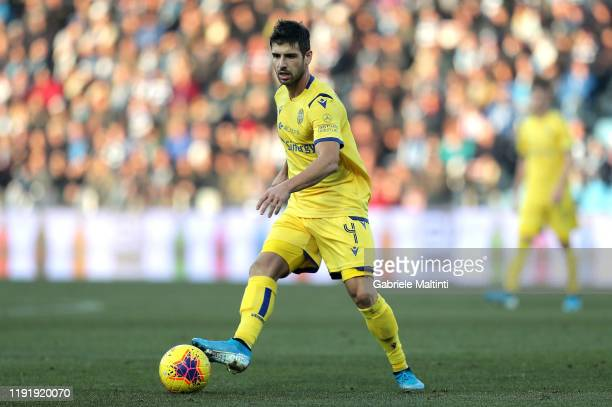 Miguel Veloso of Hellas Verona in action during the Serie A match between SPAL and Hellas Verona at Stadio Paolo Mazza on January 5 2020 in Ferrara...