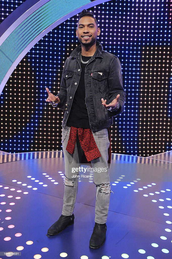 Miguel visits BET's 106 & Park at BET Studios on April 15, 2013 in New York City.