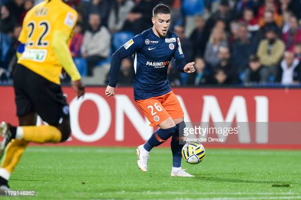 Mihailo RISTIC of Montpellier during the League Cup match between Montpellier and Nancy on October 30 2019 in Montpellier France