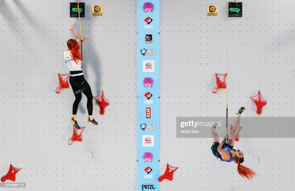 IFSC Climbing World Cup - Bouldering and Speed Climbing : News Photo