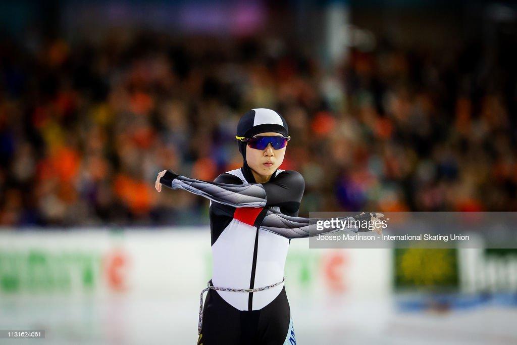 ISU World Sprint Speed Skating Championships Heerenveen : ニュース写真