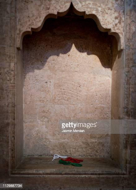 mihrab decoration - arch stock pictures, royalty-free photos & images