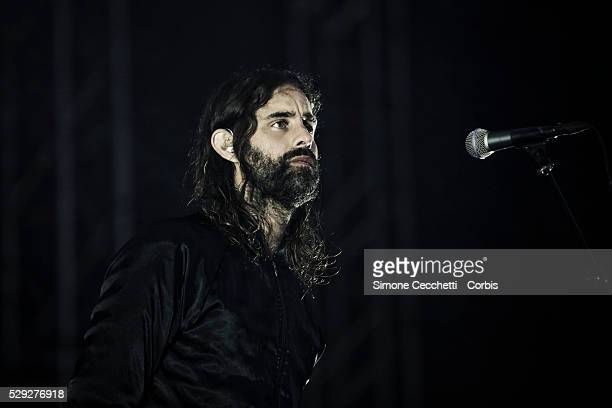 Miike Snow perform at the Way Out West Festival in Gothenburg