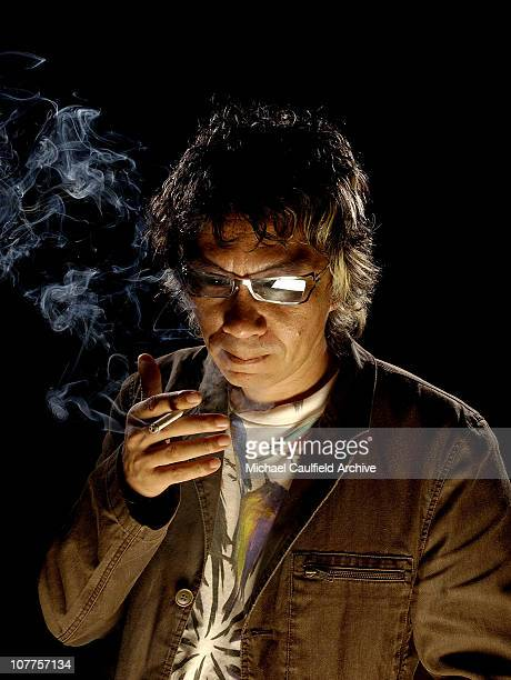 Miike Takashi director or 'Gozu' during CineVegas 2004 Portrait Studio Day 6 at The Palms Hotel in Las Vegas Nevada United States