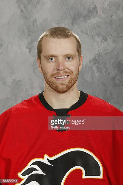Miikka Kiprusoff of the Calgary Flames poses for a portrait at Don Hartman Arena on September 122005 in Calgary Canada