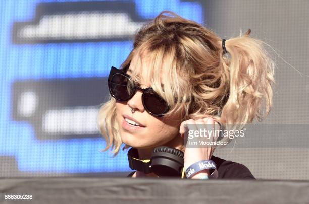 Mija performs during the 2017 Voodoo Music Arts Experience at City Park on October 29 2017 in New Orleans Louisiana