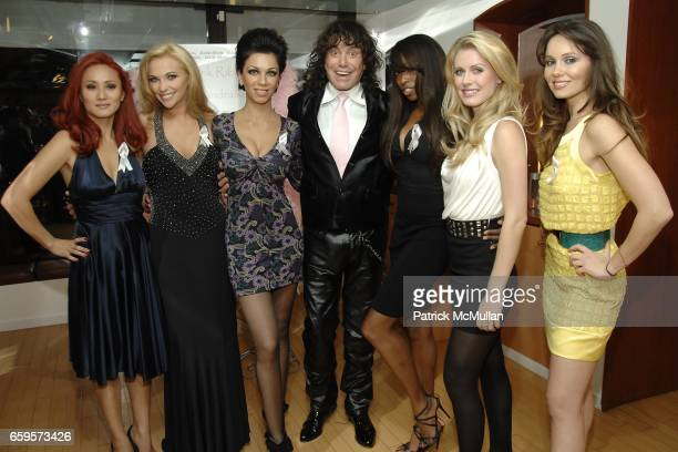 "Mija Valerie Bauer Maria Aronova Rodolfo Valentin Franka Cappella Serene Aandahl and Katy Scrinavko attend Sofia's ""Hair for Health"" Annual Party at..."