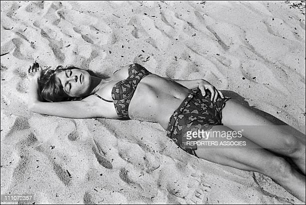 Mijanou Bardot In Saint Tropez France On May 25 1965