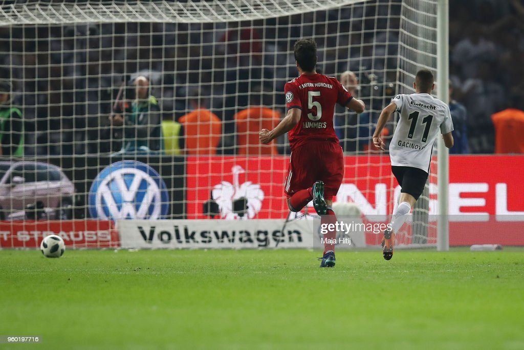 Bayern Muenchen v Eintracht Frankfurt - DFB Cup Final : ニュース写真
