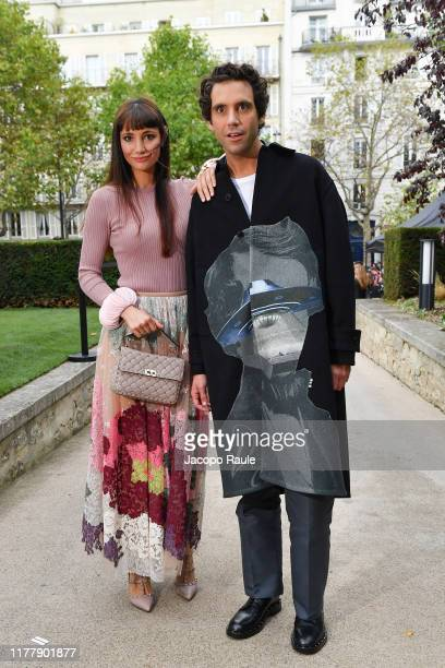 Mika and Paloma Penniman attend the Valentino Womenswear Spring/Summer 2020 show as part of Paris Fashion Week on September 29 2019 in Paris France