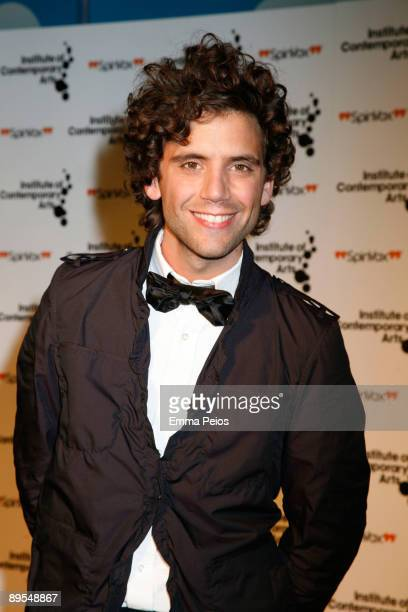 Mika attends Figures of Speech: ICA Annual Gala at The Brewery on March 26, 2009 in London, England.