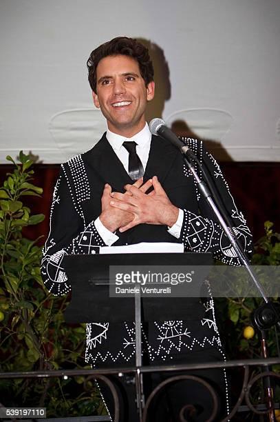 Mika attends McKim Medal Gala In Rome at Villa Aurelia on June 9 2016 in Rome Italy