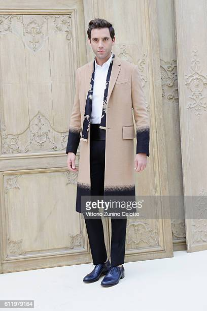 Mika attends the Valentino show as part of the Paris Fashion Week Womenswear Spring/Summer 2017 on October 2 2016 in Paris France