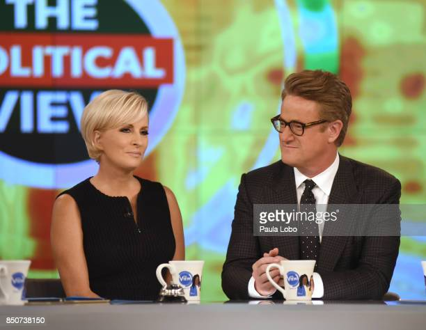 THE VIEW Mika Brzezinski and Joe Scarborough are the guests today Thursday 9/21/17 on ABC's 'The View' 'The View' airs MondayFriday on the ABC...