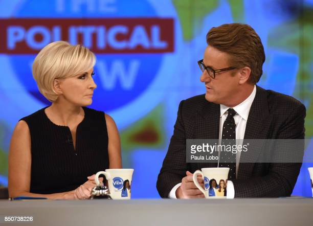THE VIEW Mika Brzezinski and Joe Scarborough are the guests today Thursday 9/21/17 on Walt Disney Television via Getty Images's The View The View...