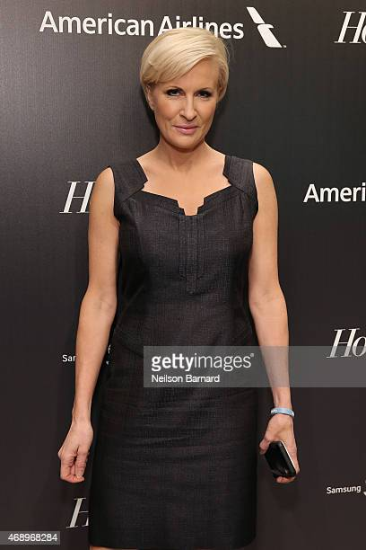 Mika Brzezinski attends 'The 35 Most Powerful People In Media' celebrated by The Hollywoood Reporter at Four Seasons Restaurant on April 8 2015 in...