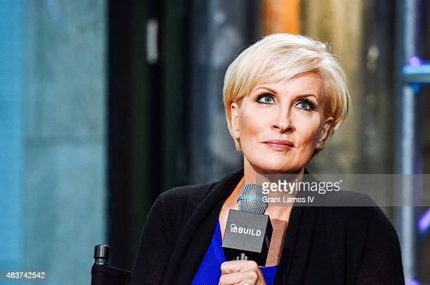Mika Brzezinski attends the AOL Build Presents 'Plenty Ladylike' at AOL Studios in New York on August 12 2015 in New York City