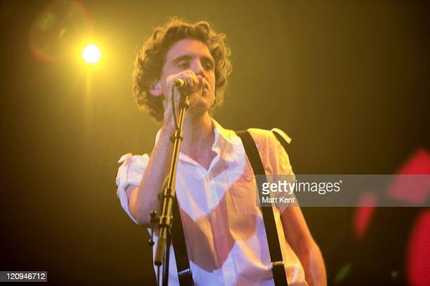 Mika during Mika live at the AOL Winter Warmer at Forum in Kentish Town in London London Great Britain