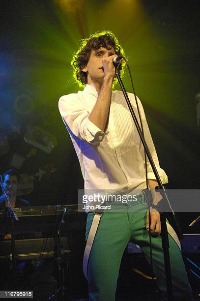 Mika during Mika Performs at The Box January 24 2007 at The Box in New York New York United States