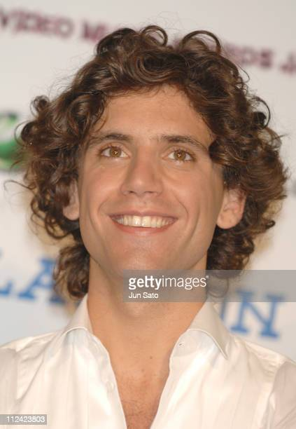 Mika during MTV Video Music Awards Japan 2007 Press Room at Saitama Super Arena in Saitama Japan