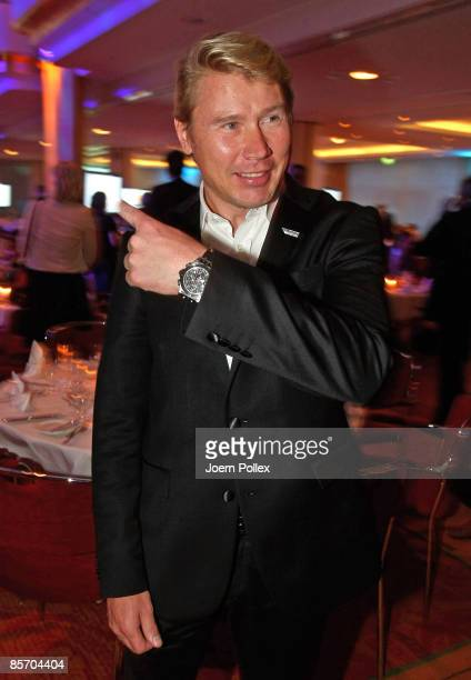 Mika Häaekkinen is seen prior to the Herbert Award 2009 Gala at the Elysee Hotel on March 30 2009 in Hamburg Germany