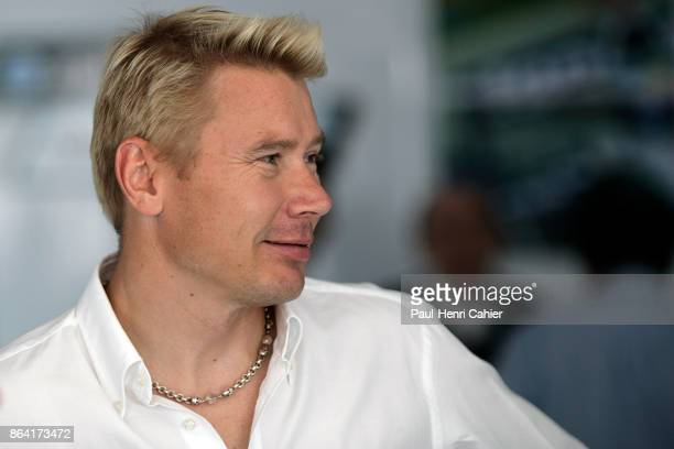 Mika Häkkinen Grand Prix of Europe Nurburgring 22 July 2007 A retired Mika Häkkinenen paying a visit to his Formula One friends in Hockenheim on the...