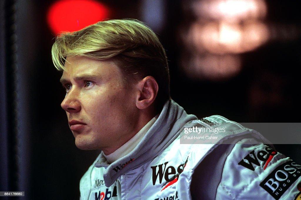 Mika Häkkinen, Grand Prix Of Luxembourg : News Photo