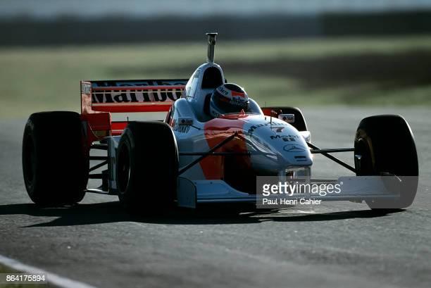 Mika Häkkinen McLarenMercedes MP4/11 Grand Prix of Argentina Autodromo Juan y Oscar Galvez Buenos Aires 07 April 1996