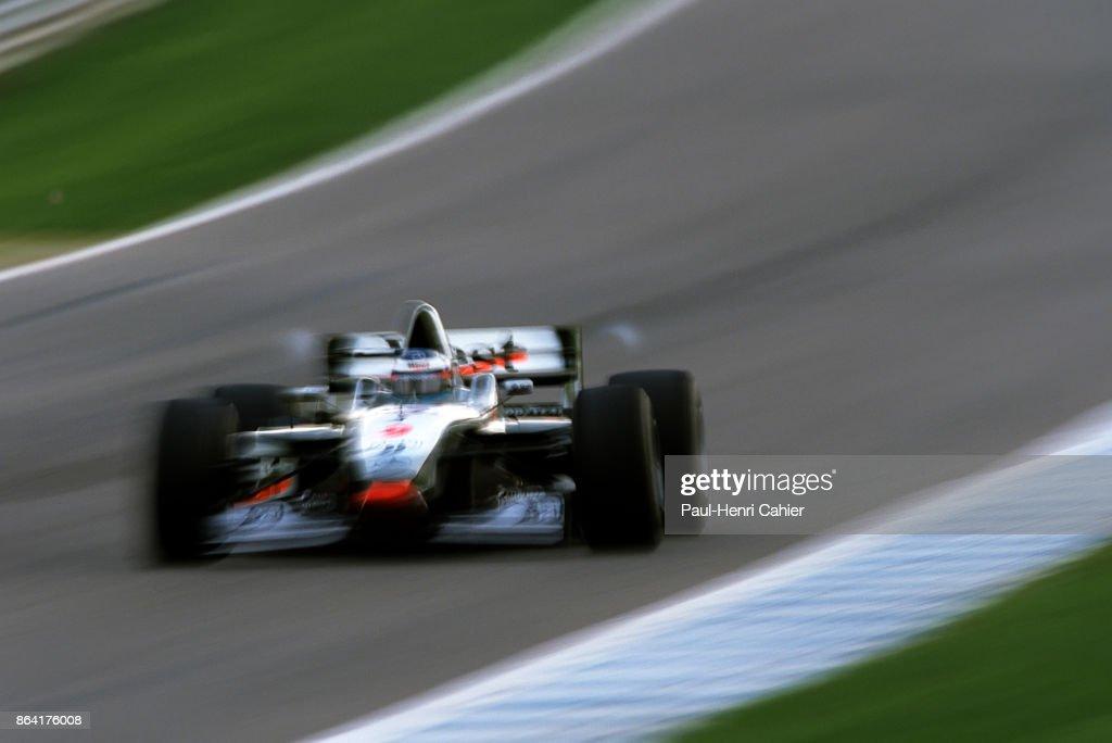 Mika Häkkinen, Grand Prix Of Europe : News Photo