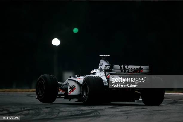 Mika Häkkinen McLarenMercedes MP413 Grand Prix of Argentina Autodromo Juan y Oscar Galvez Buenos Aires 12 April 1998