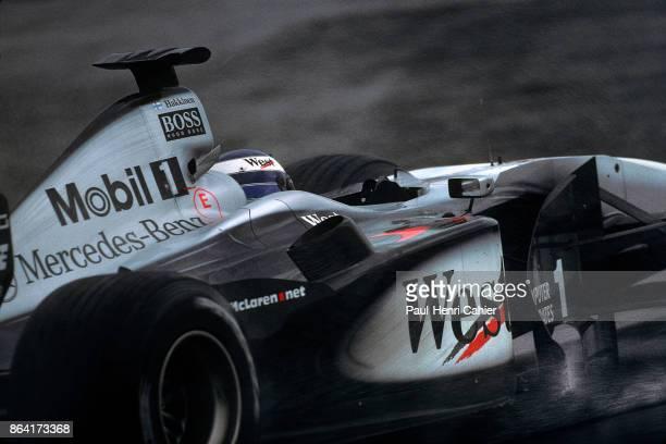 Mika Häkkinen McLarenMercedes MP4/15 Grand Prix of Europe Nurburgring 21 May 2000