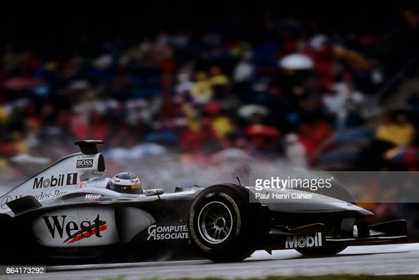 Mika Häkkinen McLarenMercedes MP4/15 Grand Prix of Germany Hockenheimring 30 July 2000