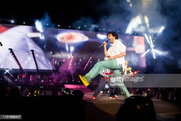 Mika in concert at Party Like a Deejay Radio Deejay party at Mind in Milano Italy on June 22 2019