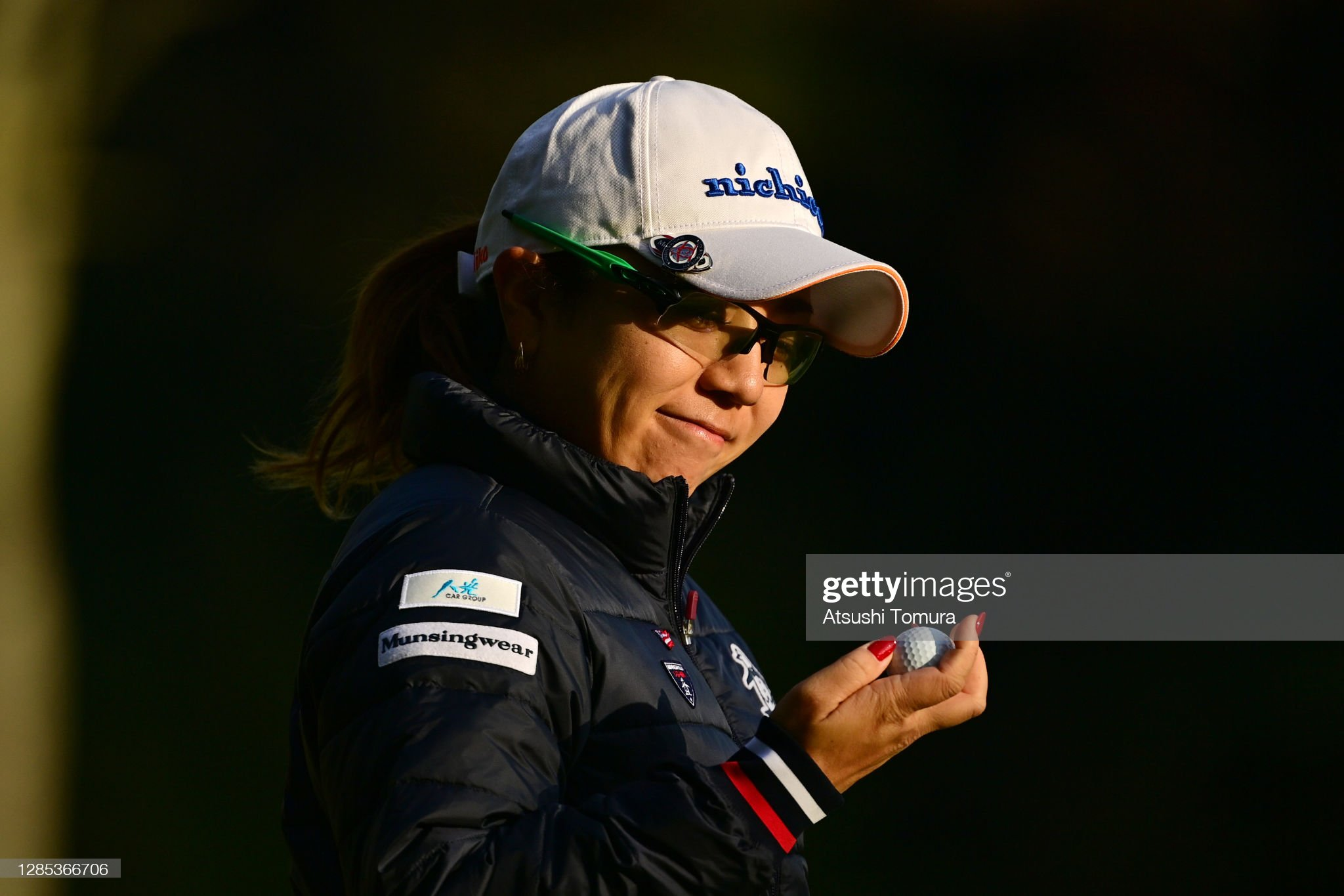 https://media.gettyimages.com/photos/mika-miyazato-of-japan-smiles-after-the-birdie-on-the-1st-green-the-picture-id1285366706?s=2048x2048