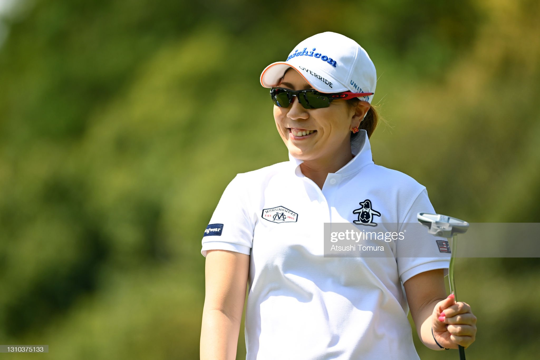 https://media.gettyimages.com/photos/mika-miyazato-of-japan-smiles-on-the-11th-green-during-the-second-of-picture-id1310375133?s=2048x2048