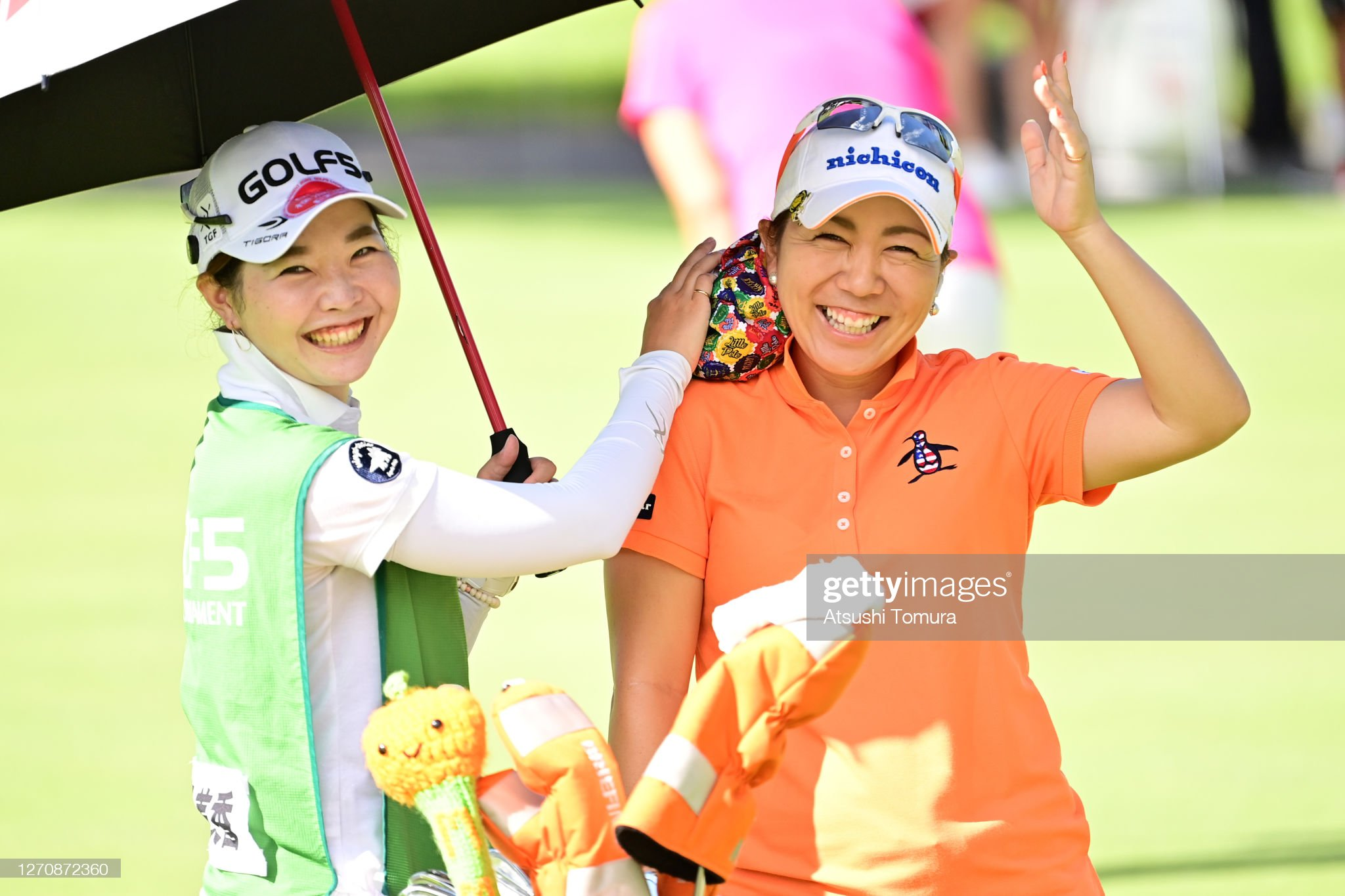 https://media.gettyimages.com/photos/mika-miyazato-of-japan-waves-on-the-1st-tee-during-the-final-round-of-picture-id1270872360?s=2048x2048