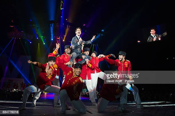 Mika performs at AccorHotels Arena on May 27 2016 in Paris France