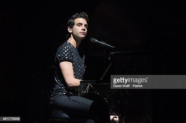 Mika performs at Fnac Live on July 18 2015 in Paris France