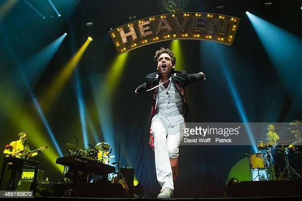 Mika performs at Zenith de Paris on September 19 2015 in Paris France