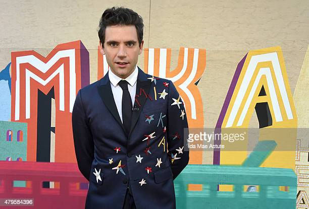 AMERICA Mika performs in Central Park as part of the 'GMA Summer Concert Series' on GOOD MORNING AMERICA 7/3/15 airing on the ABC Television Network