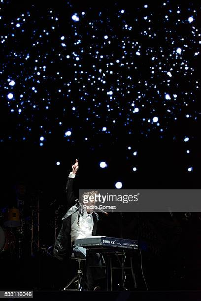 Mika performs on Mundo stage at Rock in Rio on May 20 2016 in Lisbon Portugal