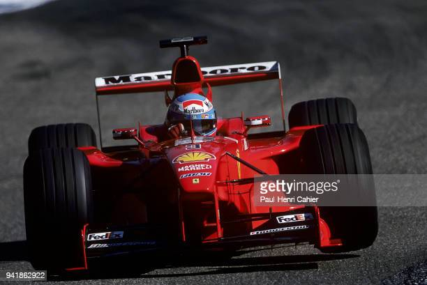 Mika Salo, Ferrari F399, Grand Prix of Germany, Hockenheimring, 01 August 1999. Mika Salo on his way to second place and podium finish in the 1999...
