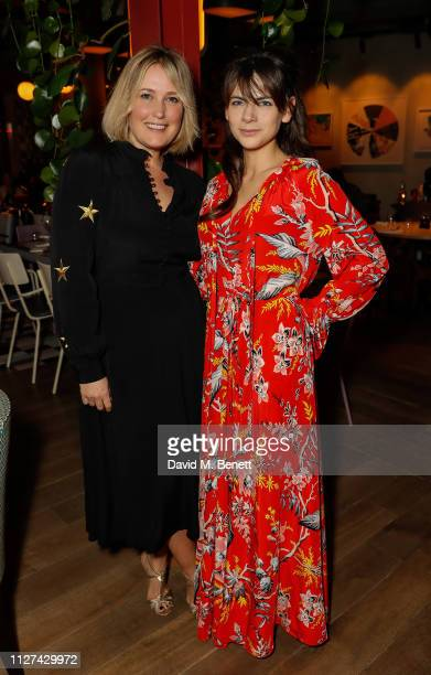 Mika Simmons and Martha Freud attend the For Good Causes dinner in aid of The Big House hosted by Martha Freud and Mika Simmons at the Blue Bird Cafe...