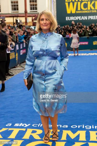 """Mika Simmons attends the European Premiere of """"Extremely Wicked, Shockingly Evil And Vile"""" at The Curzon Mayfair on April 24, 2019 in London, England."""