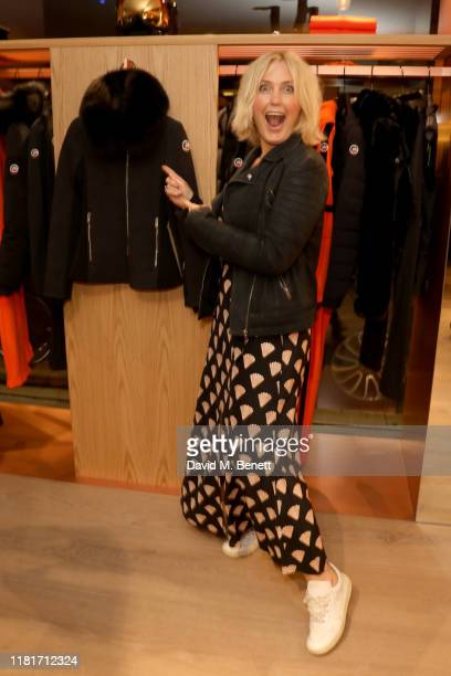 Mika Simmons attends the opening Fusalp's first UK store on October 17 2019 in London England